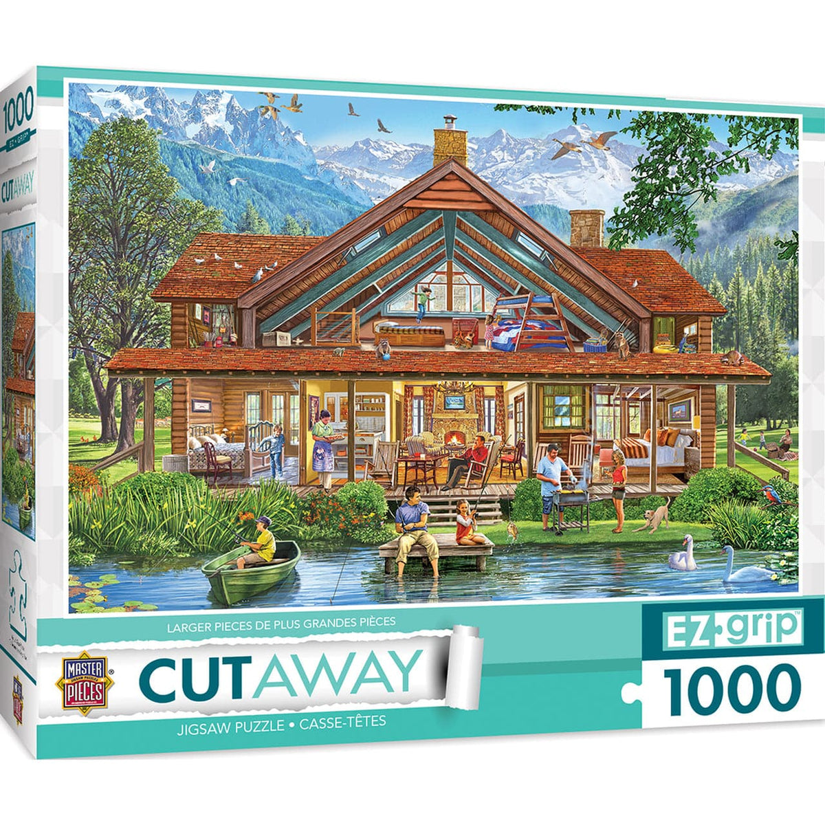 Cutaways - Camping Lodge - 1,000 Piece Puzzle