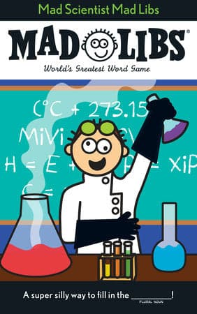 Mad Libs Mad Scientist Mad Libs - Legacy Toys