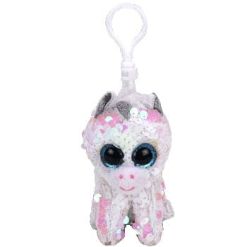 "TY Beanie Boos - Flippables - Diamond White Unicorn - Clips 5"" - Legacy Toys"