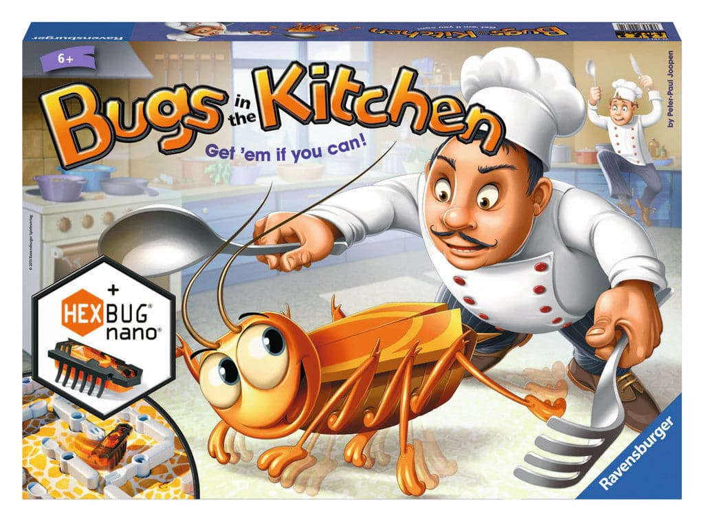 Ravensburger Bugs in the Kitchen - Get Em' if You Can! - Legacy Toys