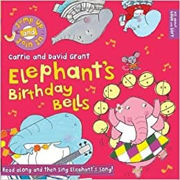 Usborne Books Elephant's Birthday Bells - Legacy Toys