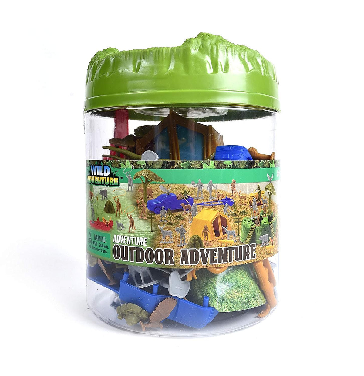 Fun Bucket Playset - Camping Outdoor Adventure - Legacy Toys