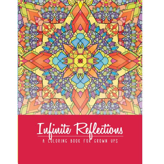 Adult Coloring Book - Infinite Reflections