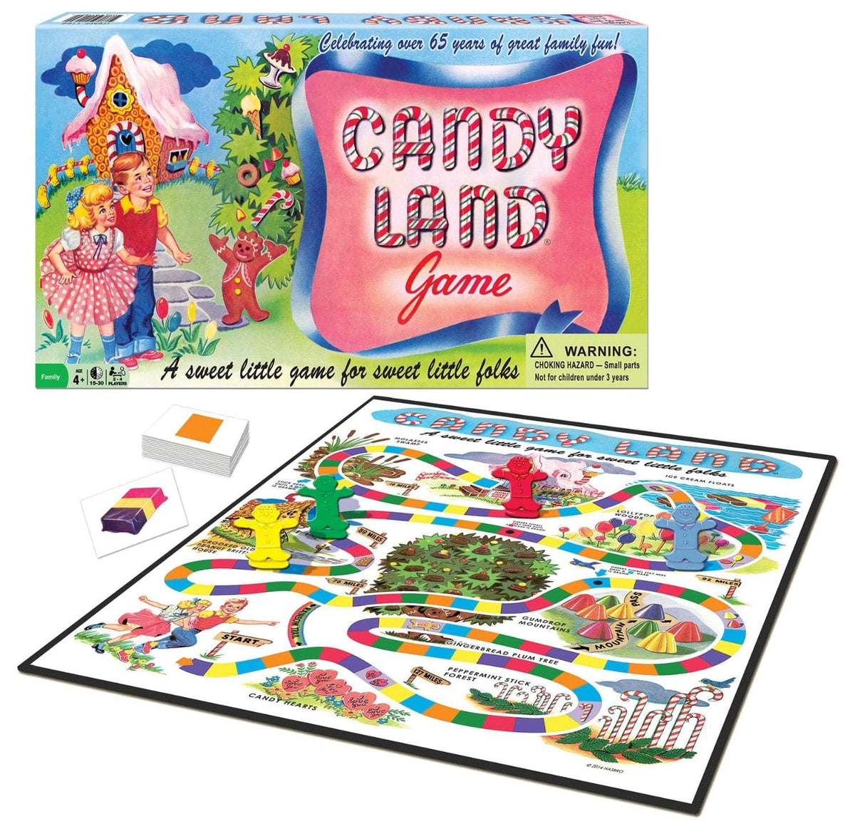 Winning Moves Candy Land 65th Anniversary - Legacy Toys