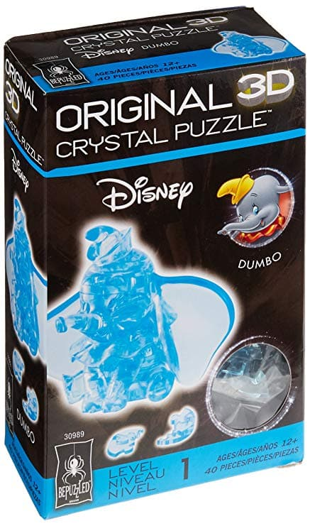 BePuzzled 3D Licensed Crystal Puzzle - Dumbo - Legacy Toys