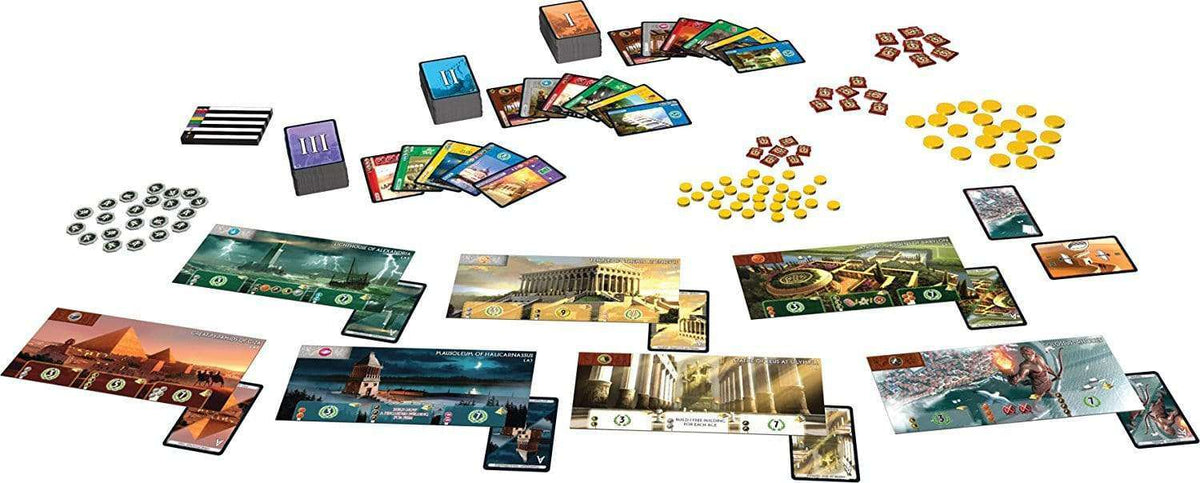 Repos Production 7 Wonders Game - Legacy Toys