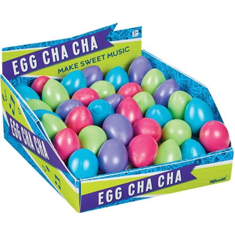 "Egg Cha Cha 2.25"" Assorted Colors"