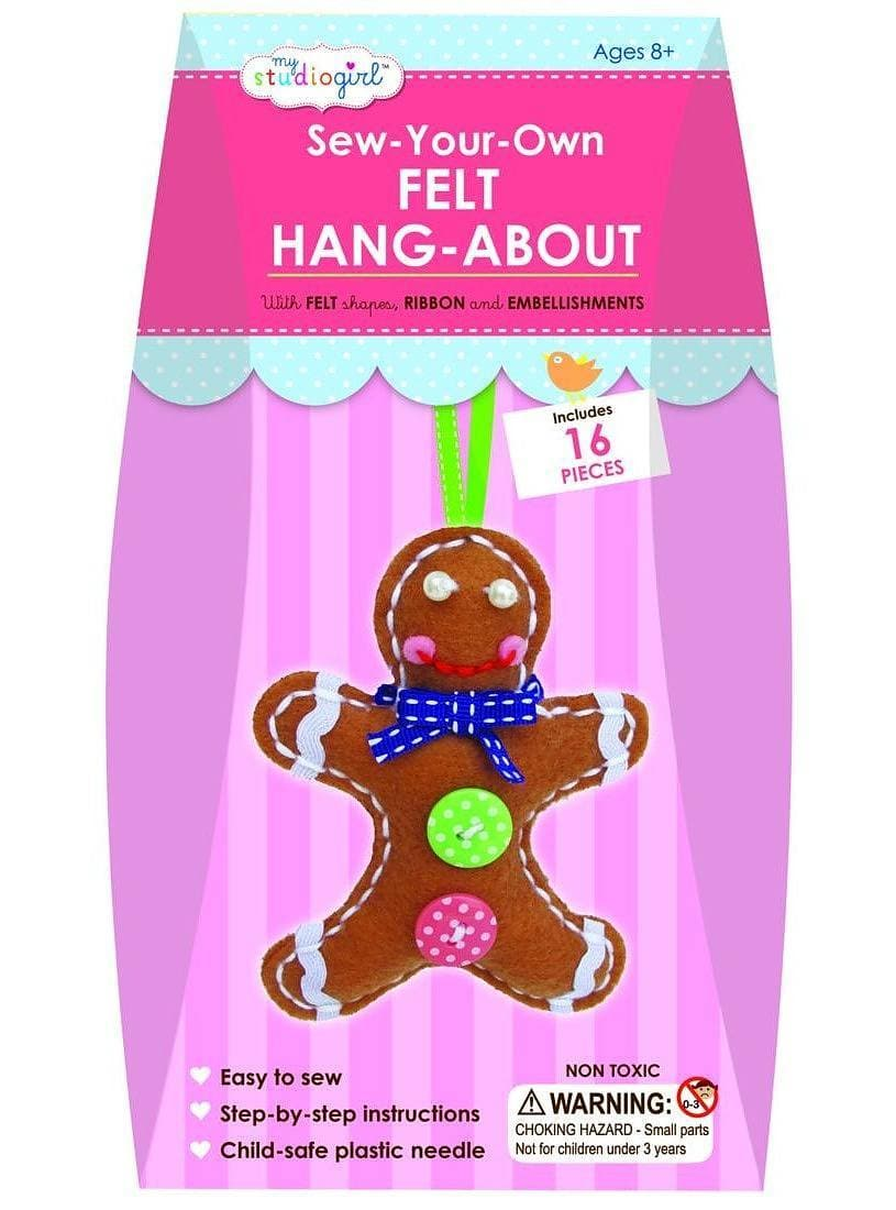 Felt Hang-About - Gingerbread Man - Legacy Toys