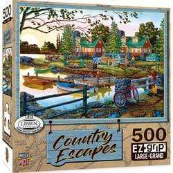 Masterpieces Country Escapes - Away From It All - 550 Piece Puzzle - Legacy Toys