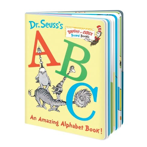 Dr. Seuss ABC - Big Bright and Early Board Book