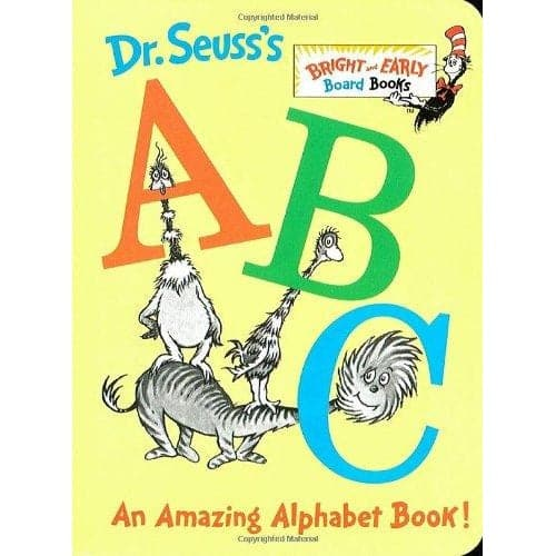 Dr. Seuss Dr. Seuss's ABC - Bright & Early Board Book - Legacy Toys