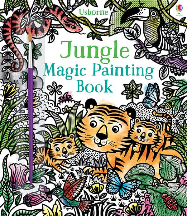 Jungle Magic Painting Book - Legacy Toys