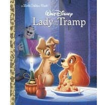 Penguin Random House Lady and the Tramp - A Little Golden Book - Legacy Toys