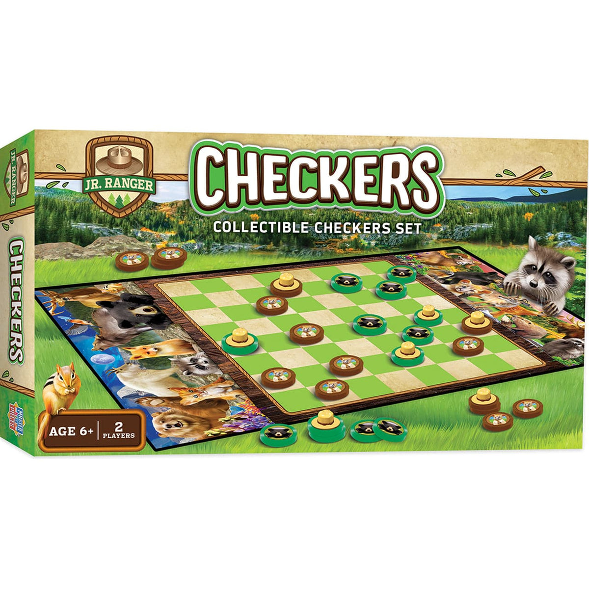 Jr. Ranger Checkers Board Game - Legacy Toys