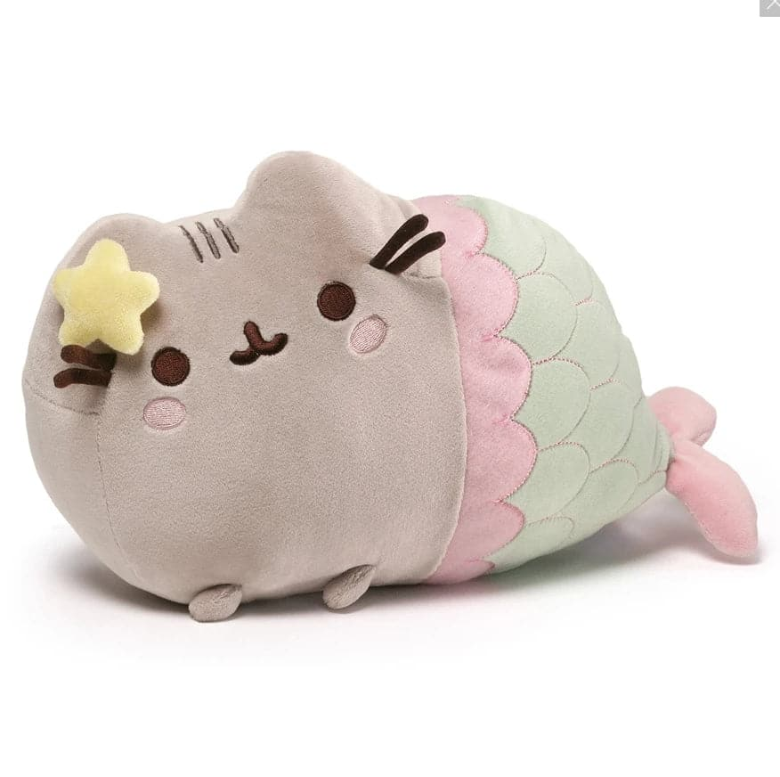 "Pusheen Mermaid with Star, 12"" - Legacy Toys"