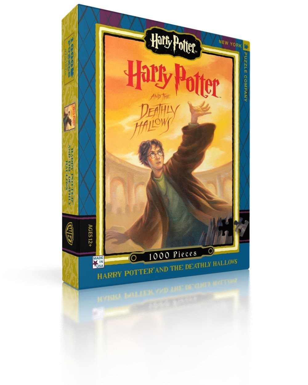 Harry Potter - Deathly Hallows Puzzle - 1,000 Piece Puzzle