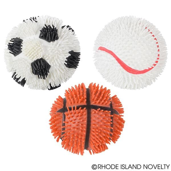 "The Toy Network 5"" Sports Puffer Balls Assorted Styles - Legacy Toys"