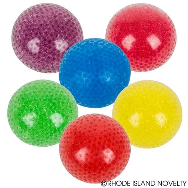 "4"" Jumbo Squeeze Bead Ball Assorted Colors"