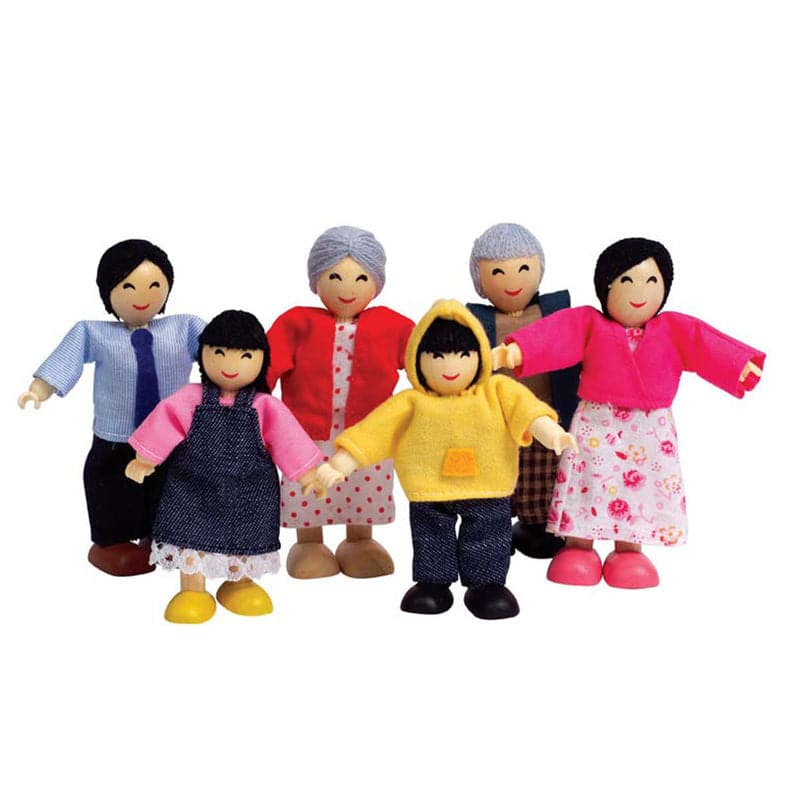 Dollhouse Families - Happy Family Asian - Legacy Toys