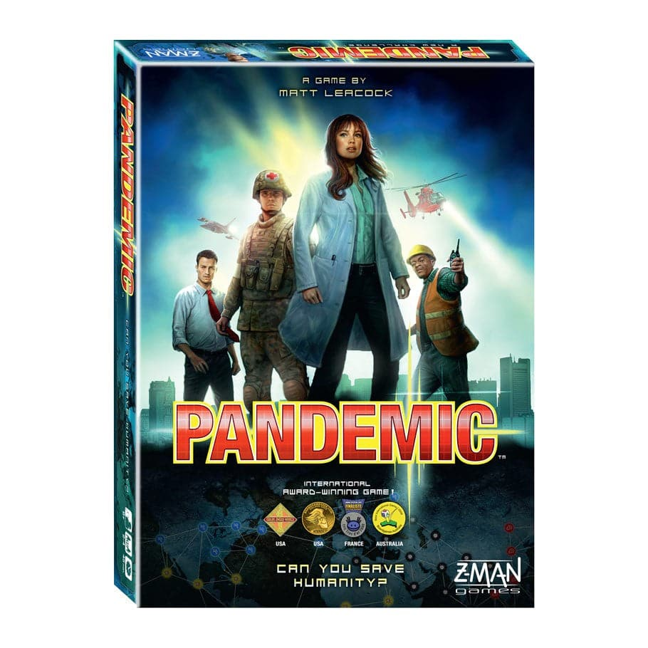 Z-Man Games Pandemic Board Game - Legacy Toys