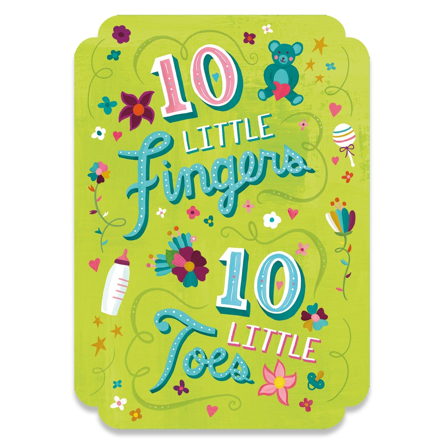 Baby & Special Occasions Cards 10 Fingers & Toes