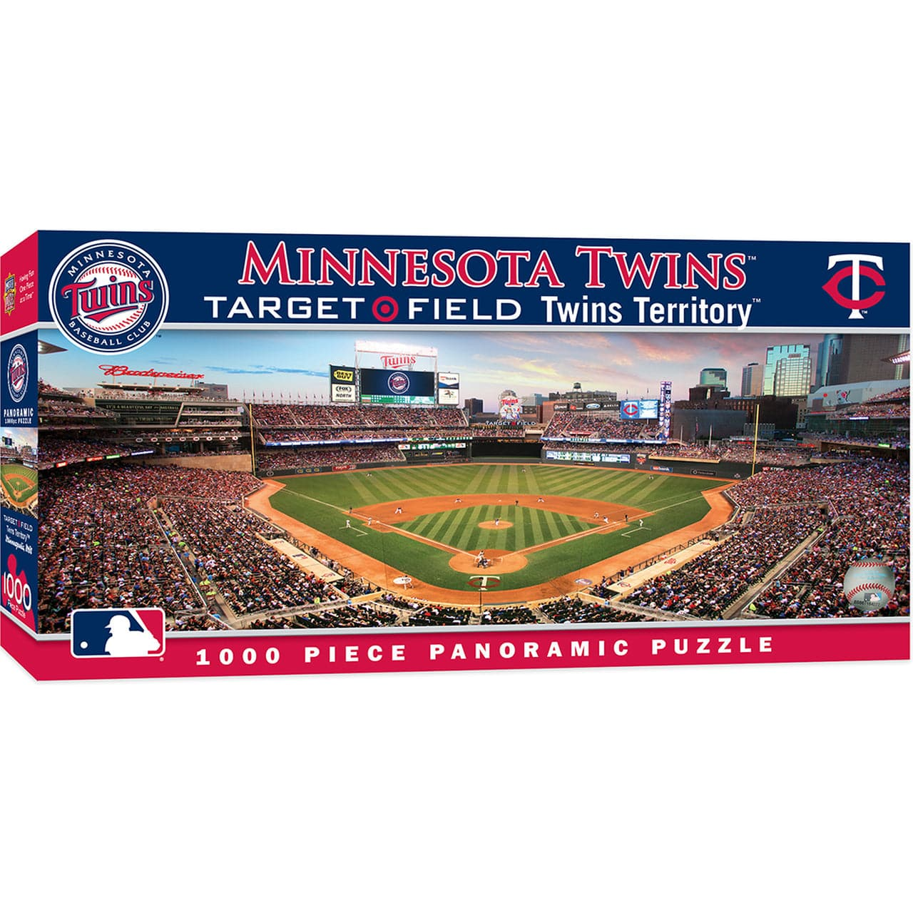 Minnesota Twins Panoramic Puzzle - 1,000 Piece Puzzle