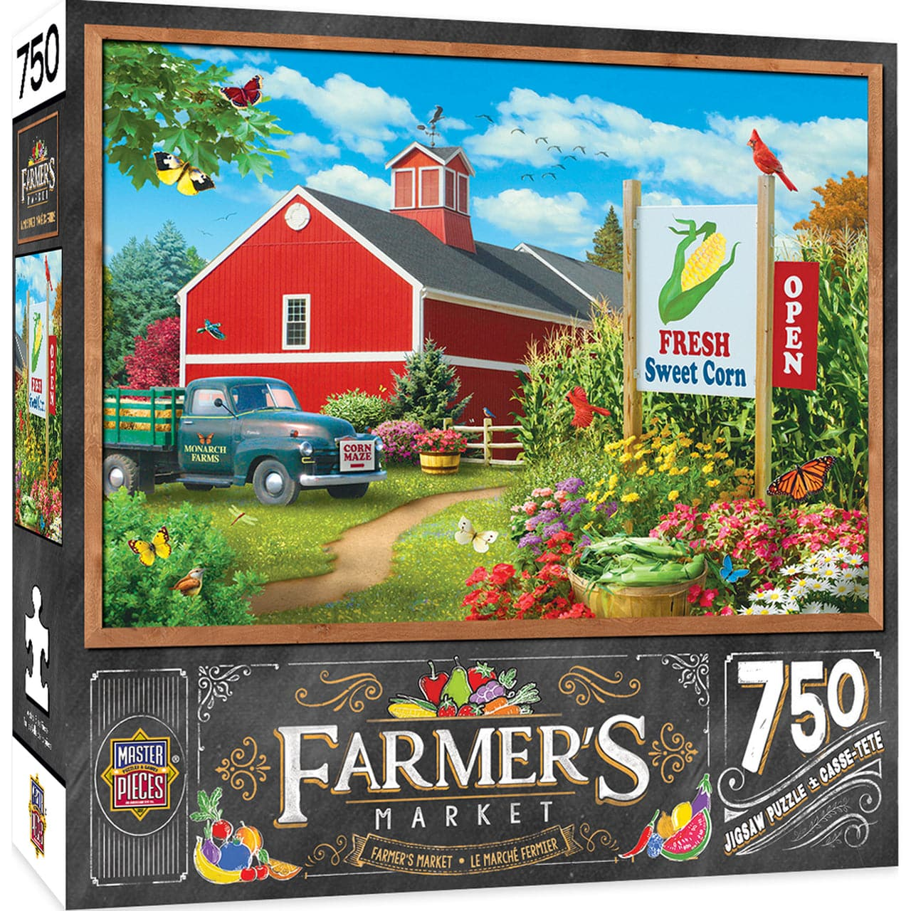 Farmer's Market - Country Heaven - 750 Piece Puzzle