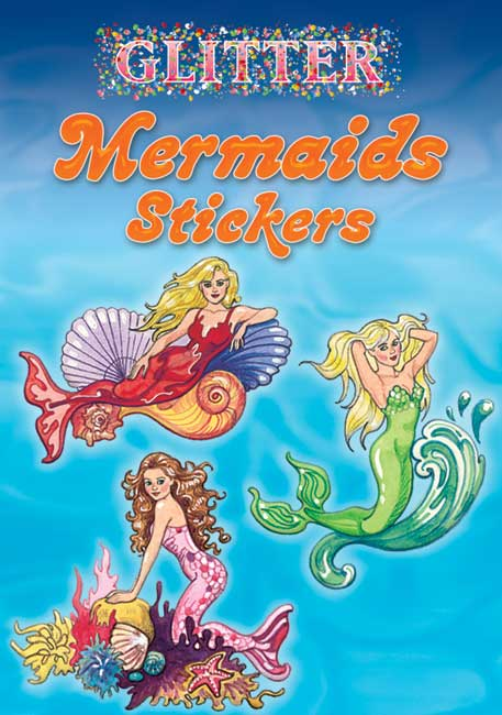 Glitter Mermaids Stickers