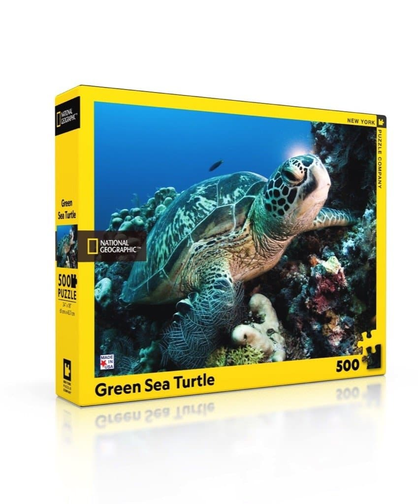 Green Sea Turtle - 500 Piece Jigsaw Puzzle
