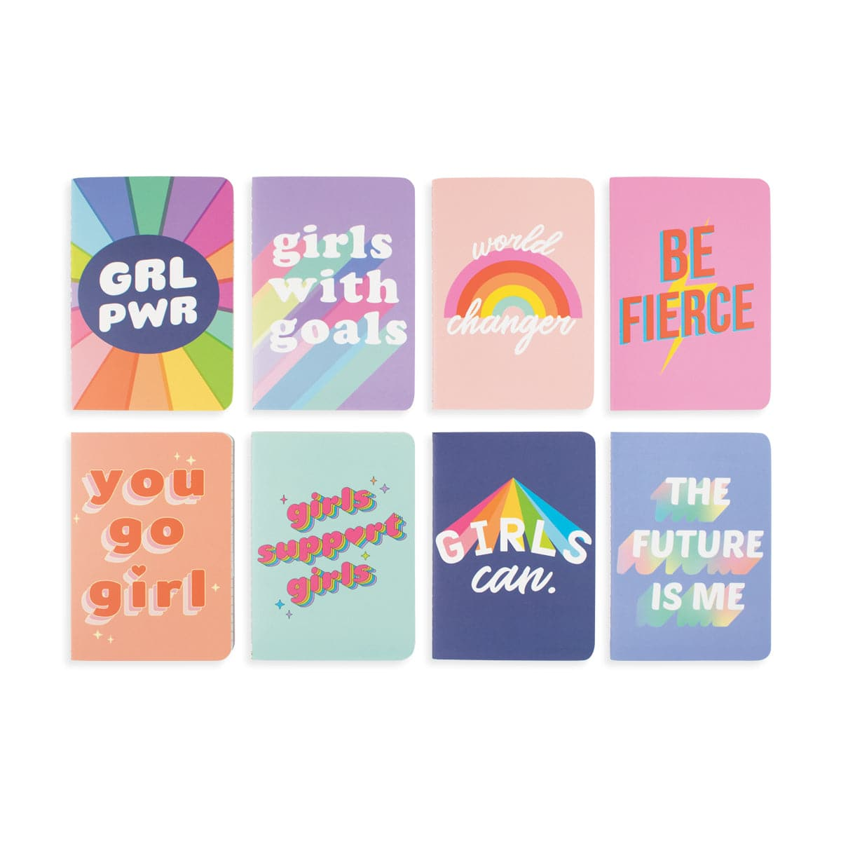 Grl Pwr Mini Pocket Pals Journals Set of 8
