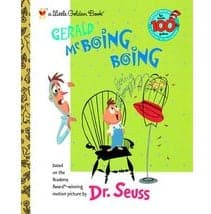 Penguin Random House Gerald McBoing Boing - A Little Golden Book - Legacy Toys