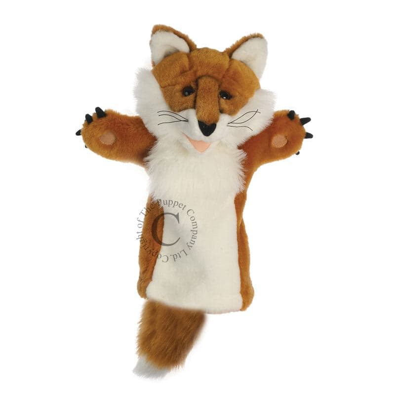 Long Sleeved Glove Puppets - Fox - Legacy Toys