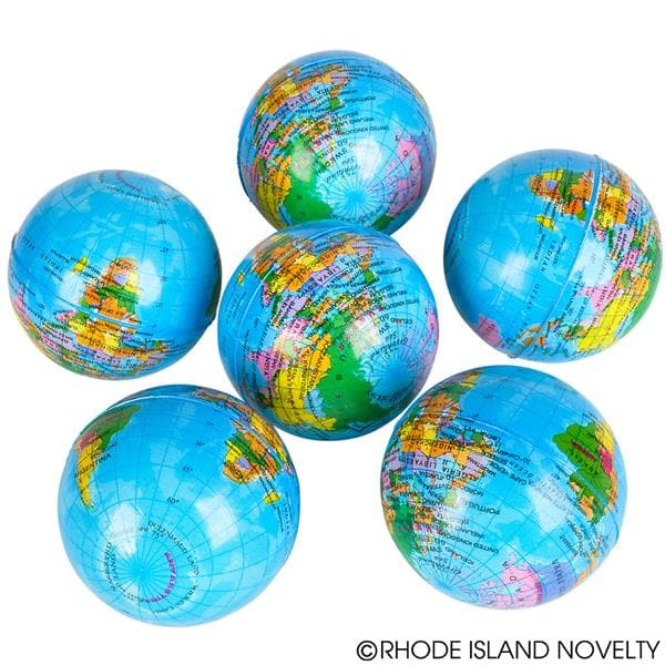 "The Toy Network 3"" Globe Stress Ball - Legacy Toys"