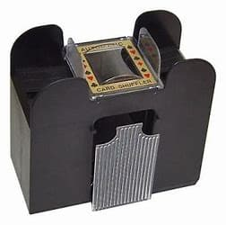 Black and Gold Card Shuffler