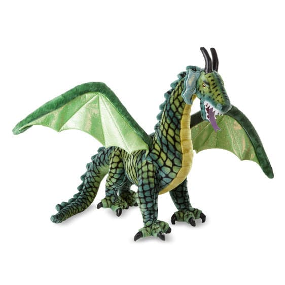 Giant Winged Dragon - Lifelike Animal Giant Plush