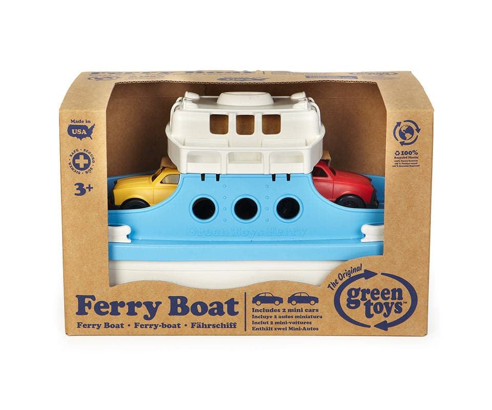 Ferry Boat with Fastback Mini Cars