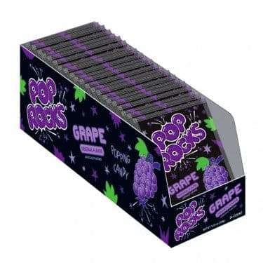 Pop Rocks Grape 0.33 oz. Bag