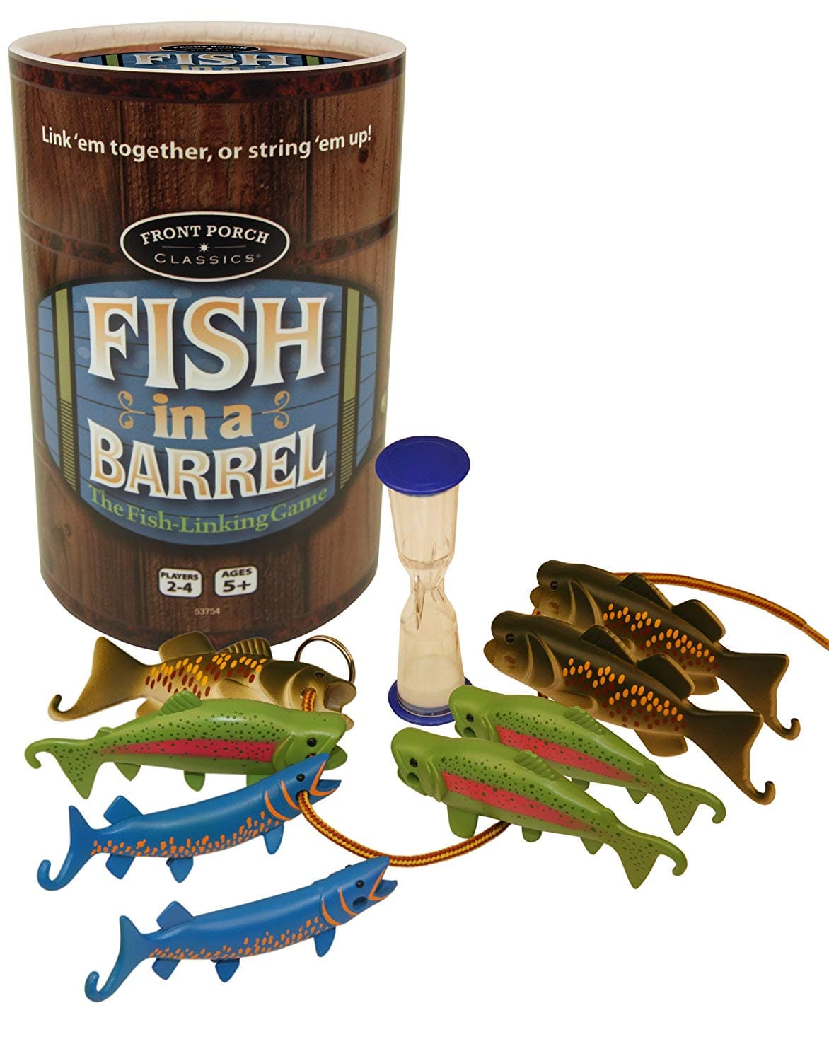 University Games Fish in a Barrel Game - Legacy Toys