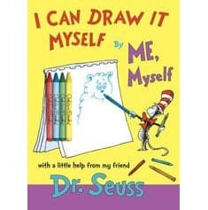Dr. Seuss I Can Draw It By Myself, By Me, Myself - Legacy Toys