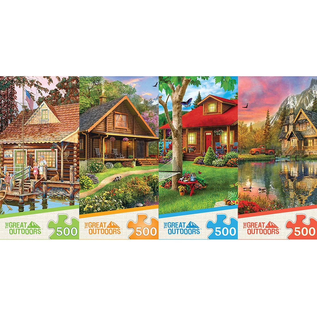 Great Outdoors - Mountain Retreat - 500 Piece Puzzle - Legacy Toys