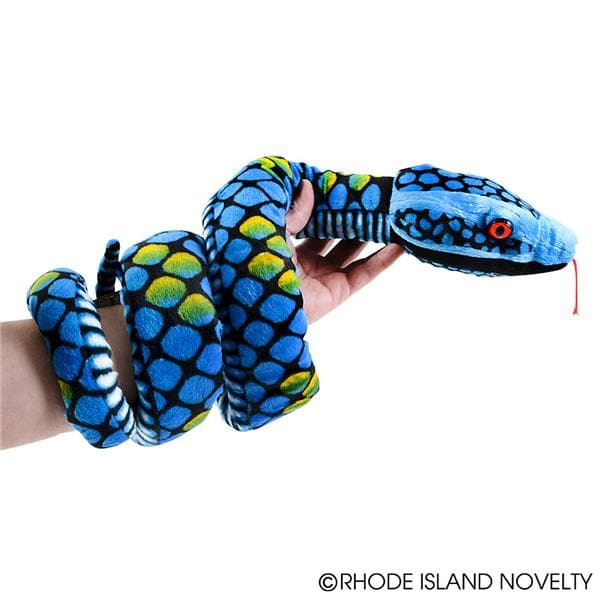 "70"" Diamond Pattern Snake Plush"