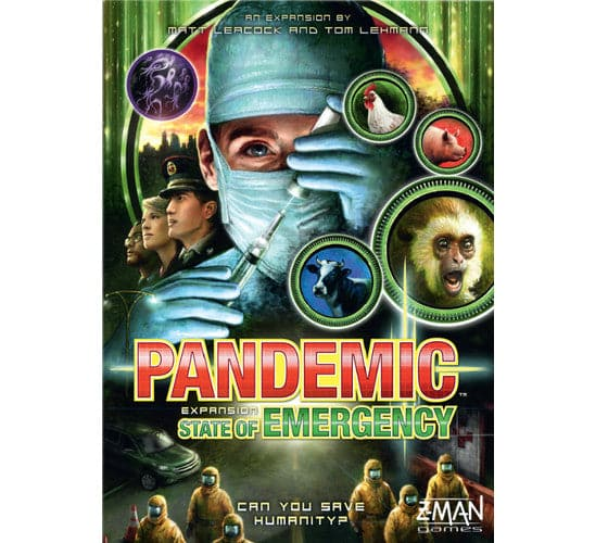 Pandemic Board Game - State of Emergency Expansion