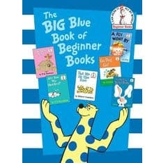 Dr. Seuss Big Blue Book of Beginner Book - Legacy Toys