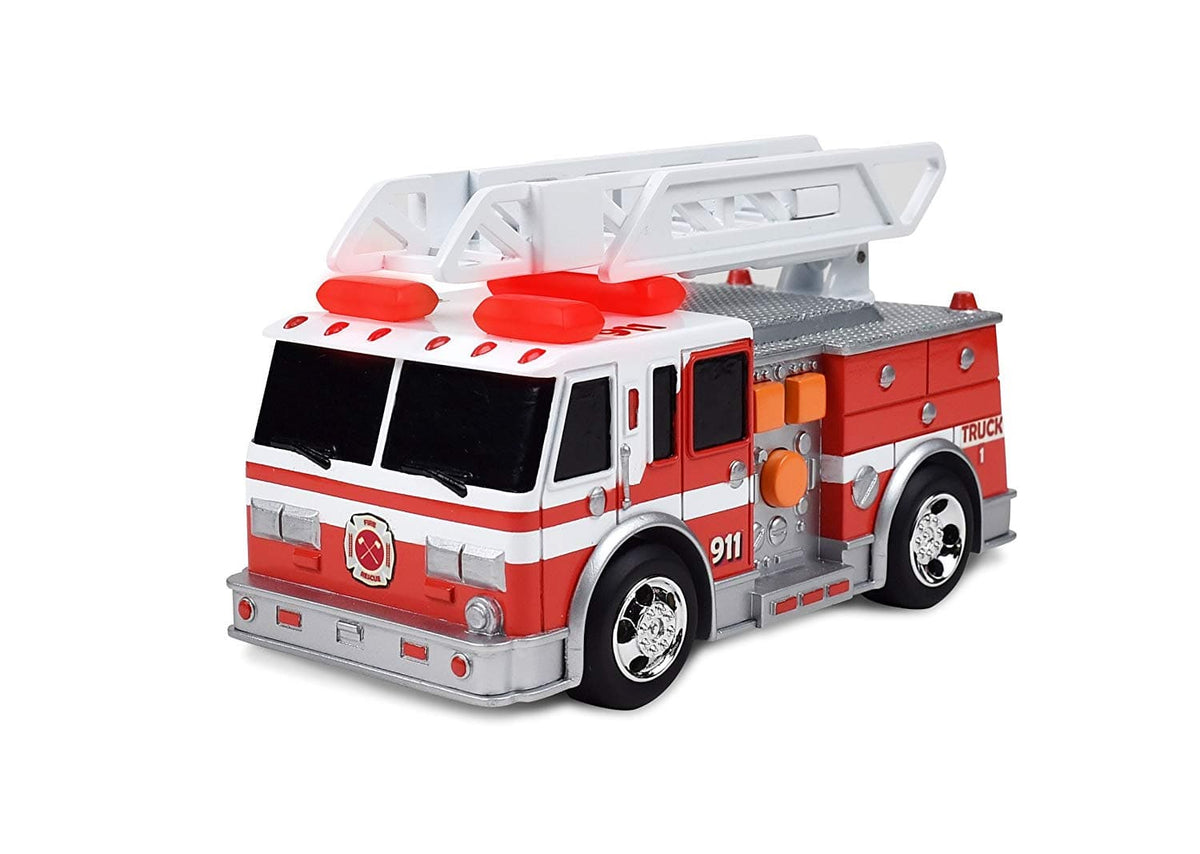 Sunny Days Maxx Action Realistic Action Trucks Fire Rescue Series Ladder Truck - Legacy Toys