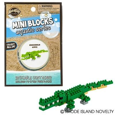 Adventure Planet Mini Blocks - Crocodile 61 Pieces - Legacy Toys