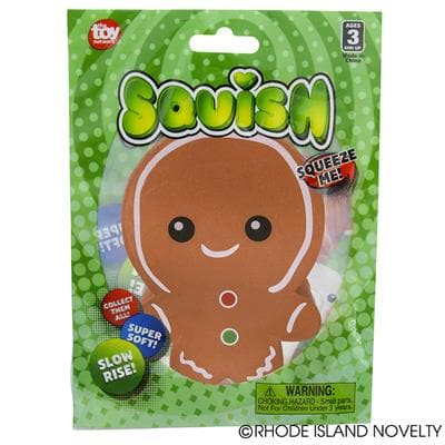 "The Toy Network 4"" Squishy Holiday - Gingerbread - Legacy Toys"