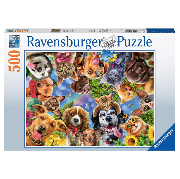 Animal Selfie - 500 Piece Puzzle