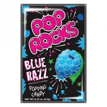 Pop Rocks Blue Razz 0.33 oz. Bag