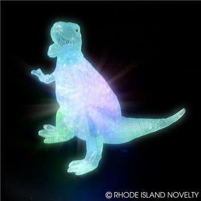 6'' Light Up Squeezy T-rex