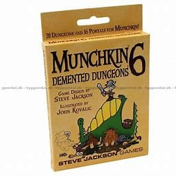 Munchkin 6: Demented Dungeons (Revised Edition)